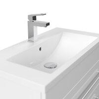 Waschplatz PORTUS 70cm weiß hochglanz (SlimLine)