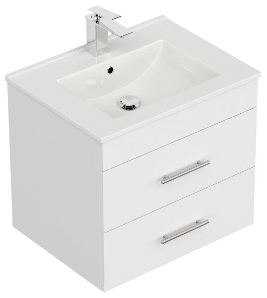 Waschplatz SILVANUS 61,5cm weiß matt