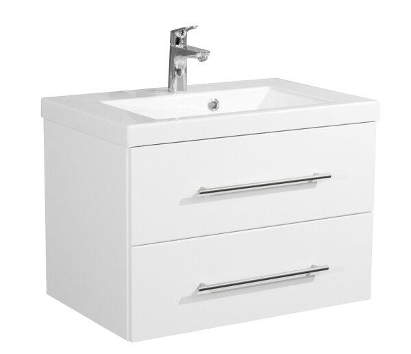 Waschplatz AURORA 70cm weiß hochglanz