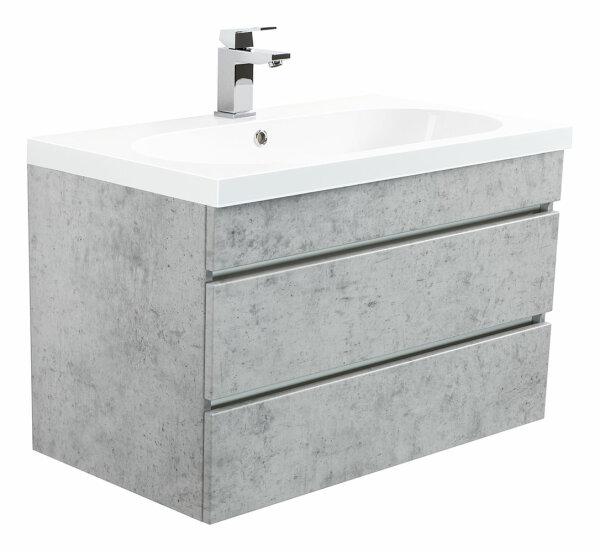 Waschplatz KALI 70cm Beton-Optik