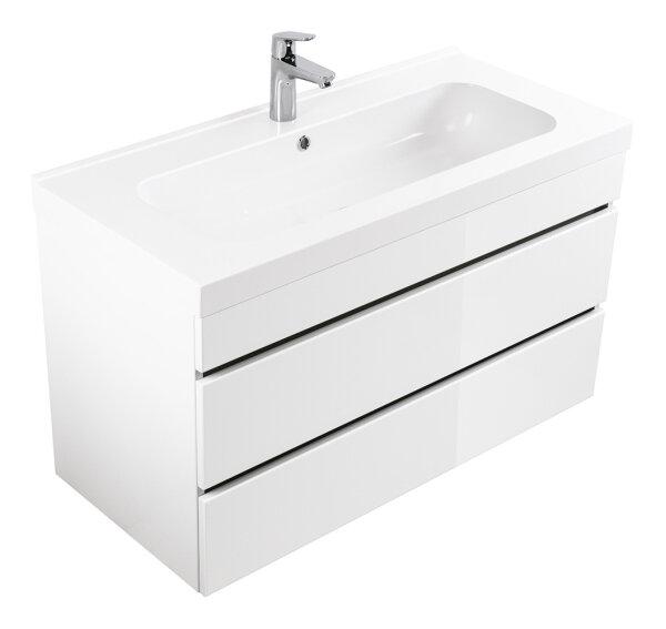 Waschplatz KALI 90cm weiß hochglanz
