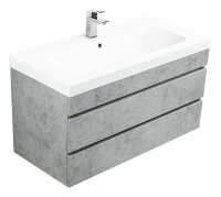 Waschplatz KALI 90cm Beton-Optik