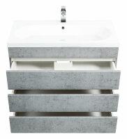 Waschplatz KALIS 90cm Beton-Optik