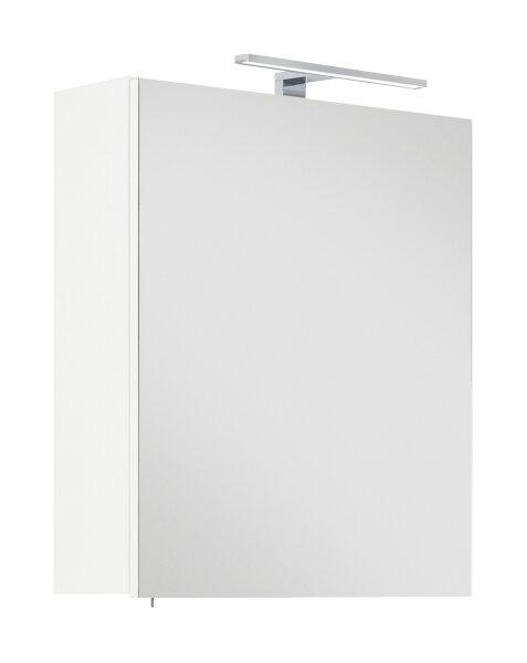 Spiegelschrank VIVA 55cm weiß mit LED-Beleuchtung
