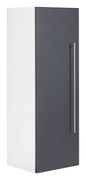 Midischrank VIVA 100cm weiss/anthrazit seidenglanz