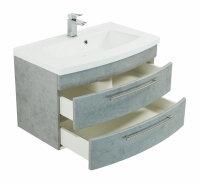 Waschplatz LUNA 82cm Beton-Optik