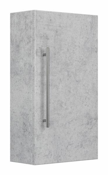 Hängeschrank 35x62x16,6cm Beton-Optik