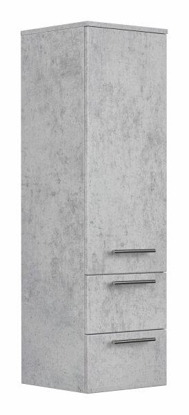 Hochschrank 35,2x120x35,8cm Beton-Optik