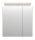 Spiegelschrank 60cm Eiche hell mit Design LED-Lampe