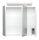 Spiegelschrank 70cm weiß hochglanz mit Design LED-Lampe