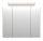 Spiegelschrank 75cm Eiche hell mit Design LED-Lampe