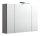 Spiegelschrank HOMELINE 90cm anthrazit seidenglanz mit LED-Beleuchtung