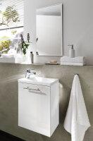 Handwaschplatz ALEXO weiß mit Mineralgussbecken...