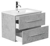 Waschplatz HOMELINE 71cm Beton-Optik