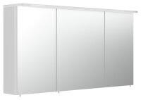 Spiegelschrank 120cm weiß hochglanz mit...