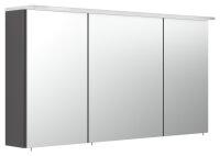 Spiegelschrank 120cm anthrazit seidenglanz mit...