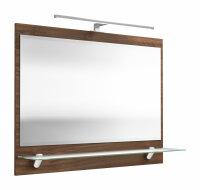Spiegel Walnuss-Nb. 90cm