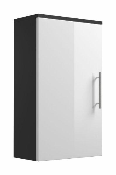 Hängeschrank Salona anthrazit-weiß 40cm