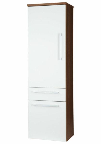 Hochschrank LAONDA Walnuss-Nb.-weiß 40cm