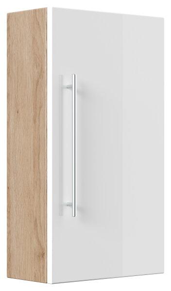 Hängeschrank Salona Eiche hell-Nb.-weiß 40cm