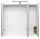 Spiegelschrank Eiche hell-Nb. 70cm mit LED-Beleuchtung