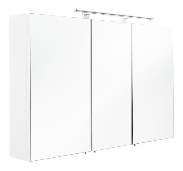 Spiegelschrank ANTON LED weiß 110cm